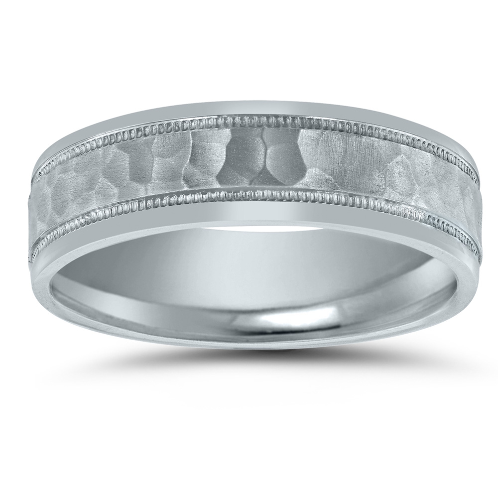 N00124 Novell wedding band
