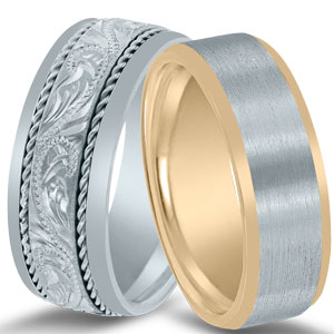 Novell wedding bands NT16648 and N03091