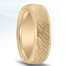 Men's Hammered Wedding Band - N16583