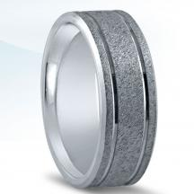 Men's Carved Wedding Band - N16596