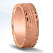 Men's Carved Wedding Band - N17076