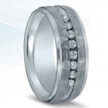 Men's Diamond Wedding Band ND16679