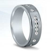 Men's Diamond Wedding Band - ND16940
