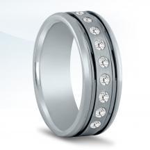 Men's Diamond Wedding Band -ND16991