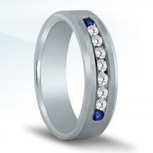Men's Diamond Wedding Band ND17001