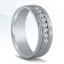 Men's Diamond Wedding Band - ND17043