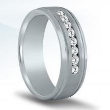 Men's Diamond Wedding Band ND17045