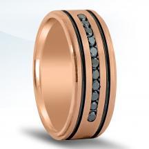 Men's Diamond Wedding Band - ND17063